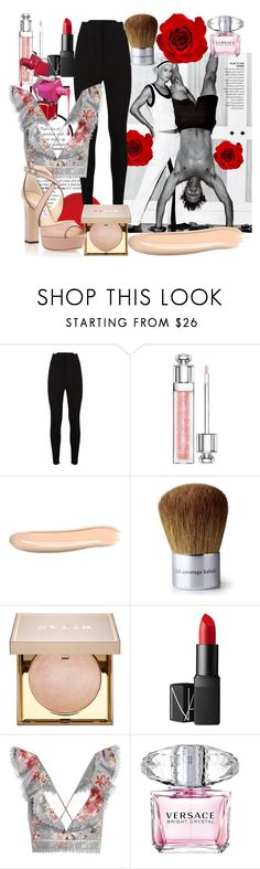 """""""Fresh"""" by chicbluemarty ❤ liked on Polyvore featuring Murphy, La Perla, Christian Dior, By Terry, Bare Escentuals, Stila, NARS Cosmetics, Zimmermann, Versace and Jimmy Choo"""