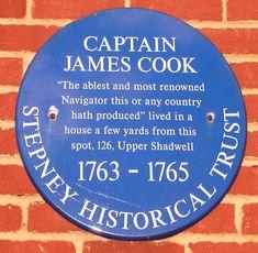 Located Near Hotel Villa Fiorentina, Captain James Cook FRS November 1728 London History, British History, Map Of New Zealand, Captain James Cook, Street Names, Hawaiian Islands, Grand Hotel, London Travel, Travel
