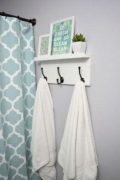 Guest Bathroom Signs Towel Holders