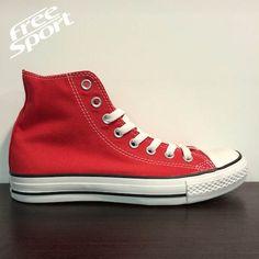 Converse All Star Alta Rossa http://freesportstyle.com/converse/336-converse-chuck-taylor-all-star-rossa-alta-m9621.html
