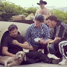 """Drunk on swish, dancing around with an old fuckin' dirty dog..."" #TrailerParkBoys"