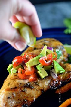 Simple Cilantro Lime Chicken #glutenfree #paleo