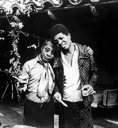 Awesome Photos of Writers Hanging Out via Flavorwire  - Maya Angelou and James Baldwin
