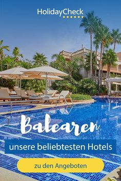 Ihr seid noch auf der Suche nach der perfekten Unterkunft für eure Reise auf die Balearen? Hier findet ihr unsere beliebtesten Hotels. Egal ob Familien-, Strandurlaub oder Rundreise, hier ist für jeden etwas dabei. Für euren Urlaub mit Freunden, allein oder mit der Familie haben wir die besten Hotels zusammengestellt. Unsere Geheimtipps für euren perfekten Urlaub auf den Balearen mit Fotoideen, Bildern und weiteren Tipps.  #balearen #bestseller #holidaycheck Malaga, Beste Hotels, Best Sellers, Sevilla, Winter Vacations, The Maldives, Summer Vacations, Vacation Travel, Alone