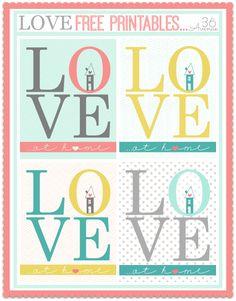 Amour imprimables Gratuits à www.the36thavenue.com