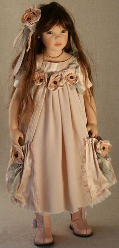 ";Most any little girl would love this doll for Christmas...she is just beautiful!   My dolls were more ""baby dolls"" but I would have loved this one!"