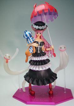 One Piece POP Sailing Again Perona Figure MegaHouse 2013