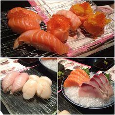 「Monster Sushi @aibakami」好久沒有大啖握壽司了,或是生魚片蓋飯!