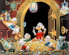 This Dollar Saved My Life at Whitehorse by Carl Barks