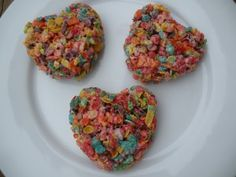 Fruity Pebble treats for Valentines Day