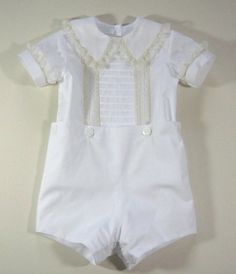 Boys Heirloom Button-on Suit by dkreid on Etsy