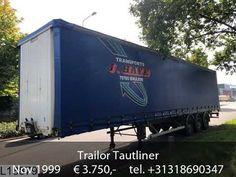 Trailor Tautliner Mobile Marketing, Semi Trucks, Sale Promotion, Transportation, Autos, Trucks, Big Rig Trucks