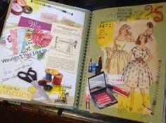 | Smash Books - Memory Journals by Tweety Jill - hmm, memory journal...love that idea :-)