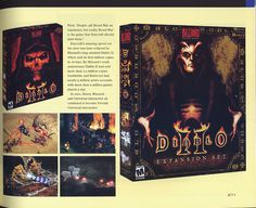Diablo II in High Score. Another one of my all-time favs!