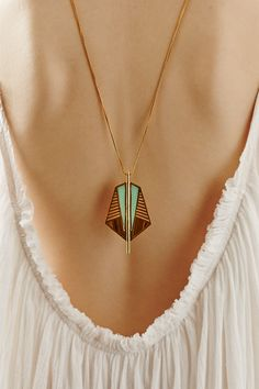 Sentinel Necklace by A Peace Treaty