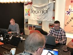 At this very moment a team of joomlers are working hard at the Joomla4 sprint.