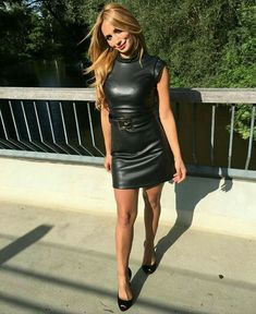 f535905c4a 99 Best Leather dress images in 2019
