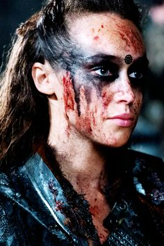 Commander Lexa in Blood Must Have Blood pt1 THE 100