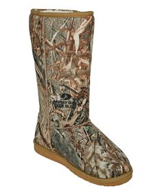 Look at this #zulilyfind! Duck Blind Mossy Oak Tall Boot by DAWGS #zulilyfinds