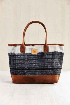 Will Leather Goods Indigo Batik Tote Bag - Urban Outfitters