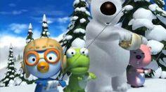 pororo - S1_EP21. Kite-flying, via YouTube. Kites Craft, Kite Flying, Snowman, Christmas Ornaments, Holiday Decor, Disney Characters, Youtube, Crafts, Manualidades