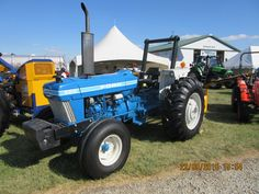 Ford 6610 New Holland Tractor, Farm Boys, Ford Tractors, Antique Tractors, Ford News, Pride, Classic, Pictures, Blue