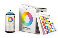 MTN WATER BASED SPRAYPAINT 300 COLOR CHART