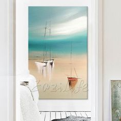 Hand painted canvas oil paintings Cheap large boat modern abstract oil painting wall decor Art pictures for living room 1 Cheap Paintings, Oil Paintings, Hand Painted Canvas, Canvas Frame, Oil Painting Abstract, Abstract Canvas, Cheap Art, Living Room Pictures, Art Pictures
