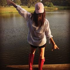 preppysouthernbelle33:  Fishing outfit
