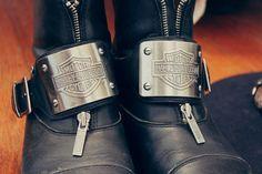 Harley Davidson Boots.