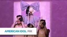 "There's never any ""Cheap Thrills"" when Sia performs! Watch her take the Idol stage! Subscribe now for more American Idol clips: http://idol.ly/YT_Subscribe S..."
