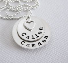 Personalized Jewelry  Hand Stamped Mommy by PatriciaAnnJewelry, $54.50
