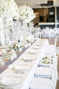Reception Decorations, Table Decorations, Blooms Florist, Our Wedding, Table Settings, Weddings, Photo And Video, Create, Instagram