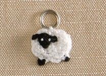 Stitch Markers - Sheep at Lantern Moon for $9.45 - many other cute ones too!!