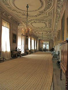 Gallery in Sudbury Hall, which represented Pemberley. From 1995 Pride and Prejudice