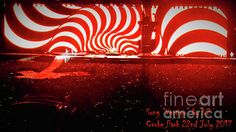 This image is a capture of performing Vertigo during their Dublin visit in July the image is captivating with the strong visuals in reds, blacks, and whites mostly to graphically represent the content of the lyrics. Croke Park, Vertigo, Digital Art, Greeting Cards, Neon Signs, Fine Art, Wall Art, Display Ideas, Photography
