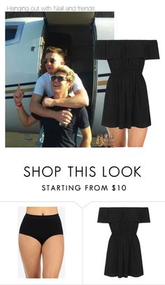 """""""Hanging out with Niall and friends"""" by sexyirishman ❤ liked on Polyvore featuring beauty, Topshop, Steve Madden, likeforlike, NiallHoran and onedirectionoutfits"""