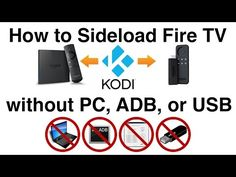How to sideload apps like Kodi onto the Fire TV — Using nothing but the Fire TV AFTVnews Amazon Fire Stick, Amazon Fire Tv, Free Tv And Movies, Kodi Live Tv, Kodi Android, Kodi Builds, Streaming Stick, Usb Gadgets, Computer Technology