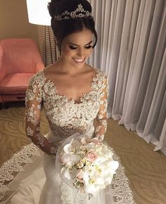 Bride of the day (Vestido Carol Hungria) #projetonoivinha #noivas #bride #casamento #wedding #vestidodenoiva