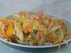 JAMAICAN STIR FRIED CABBAGE REQUEST