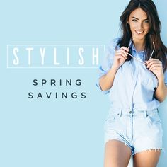 Step into stylish Spring savings! Shop our latest Double Cash Back promotion!  It's time to get in with the new, and out with the old! Treat yourself to a brand new bag, a new outfit, or that pair of shoes you've both been eyeing. Embrace this spring season's colours and styles that'll rejuvenate you after the winter blues.