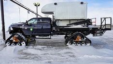 Ready for winter camper  #camper