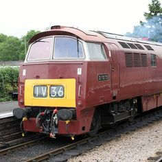 The glorious Western Campaigner at Williton on the WestSomersetRailway Summer 2010 Electric Locomotive, Diesel Locomotive, Heritage Railway, Bonde, Train Pictures, British Rail, Electric Train, Old Trains, Diesel Engine