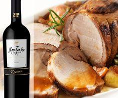 Montinho São Miguel Reserva a perfect pairing with sunday roast #confortfood