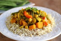 Chickpea Vegetable Curry (Vegan, Gluten-Free, Sugar-Free)