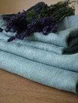 Lake Blue Linen Bath Towels Set Lara Bath Towel Sets, Bath Towels, Linen Towels, Linen Tablecloth, Kids Bath, Bath Accessories, Pure Products, Luxury Bath