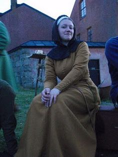 Medieval outfit from Sweden