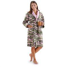 Women's Guide Gear® Camo Robe, Pink Camo pink camo, camo cloth, camouflag stuff, born countri, women guid, camo parti, guid gear