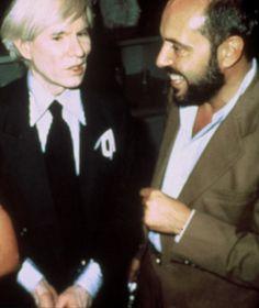 con Andy Warhol