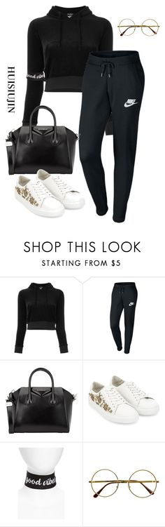"""""""#39"""" by huisiujinxxx ❤ liked on Polyvore featuring Vetements, NIKE, Givenchy, Monsoon, New Friends Colony and Retrò"""